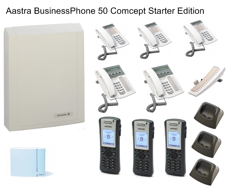 Aastra BusinessPhone 50 Comcept Starter Edition